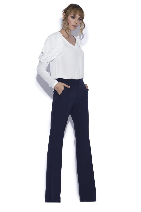 Proste casualowe spodnie