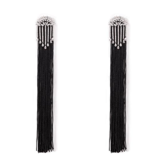 Eleganckie kolczyki z krótkimi łańcuszkami