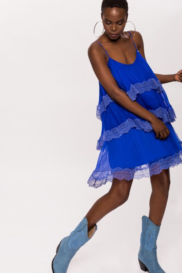Jedwabna sukienka mini