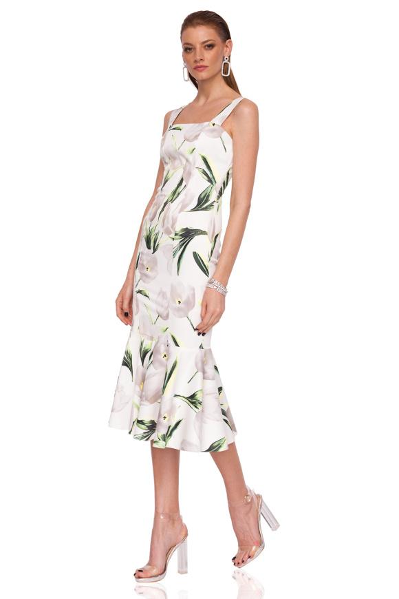 Sukienka Bodycon z kwiatowym nadrukiem