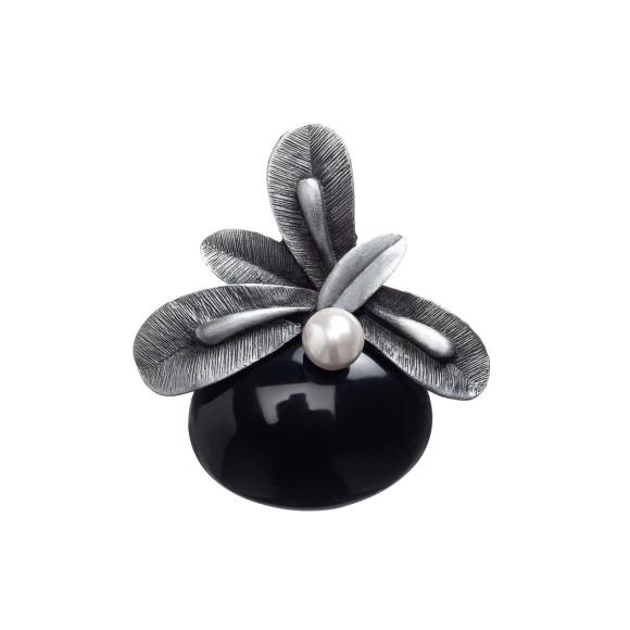 Broszka w kształcie kwiatu