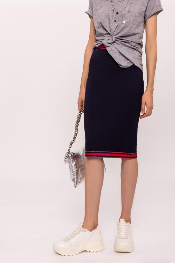 Spódnica w kontrastowych kolorach