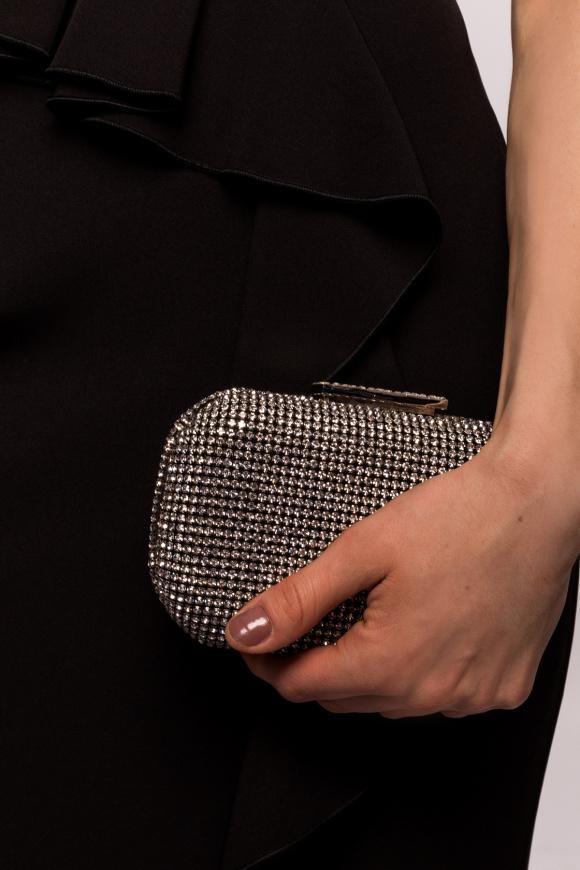Kopertówka z kryształami ze szkła
