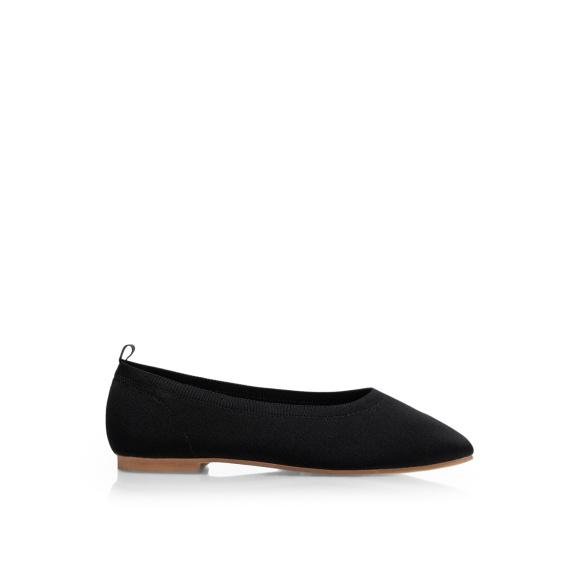 Textile ballerina shoes