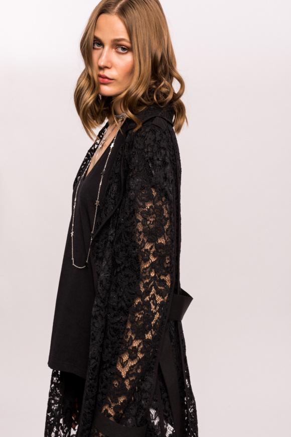 Long lace jacket