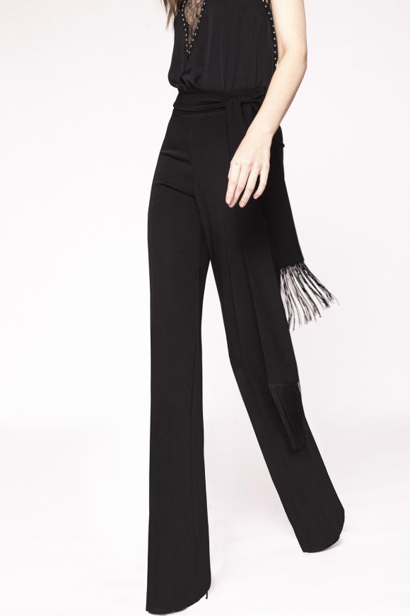 Rozkloszowane spodnie