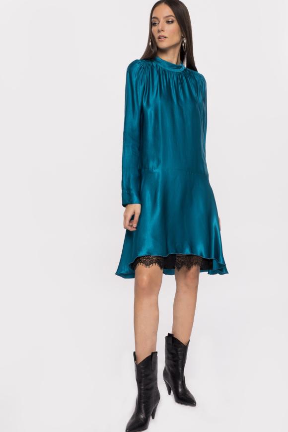 Lekka sukienka z wiskozy