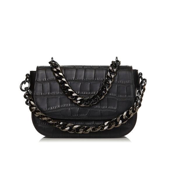 Adjustable strap natural leather bag