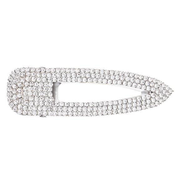 Crystal embellished hair clips