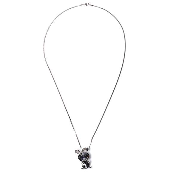 Crystal embellished necklace