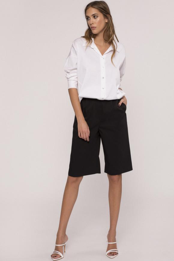 Cotton bermuda shorts