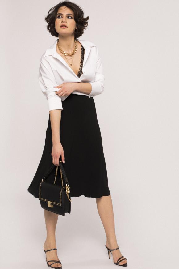 High waist skirt with pockets