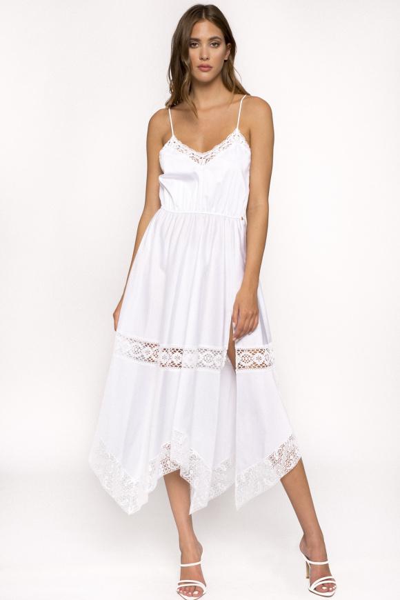 Spaghetti straps cotton dress