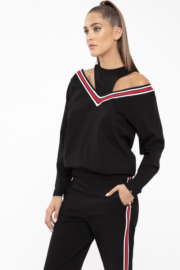 Viscose sweatshirt