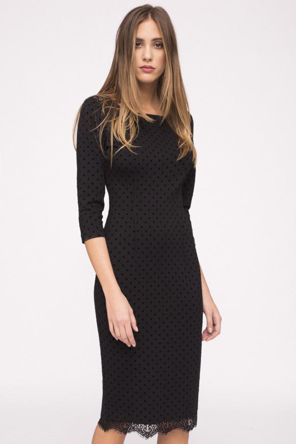 Bodycon viscose dress