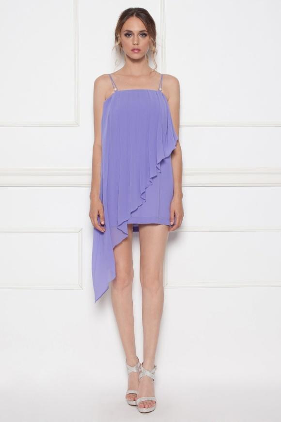 Asymetryczna sukienka wieczorowa
