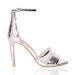 Eleganckie metaliczne sandały