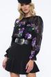 Ruffle mini skirt